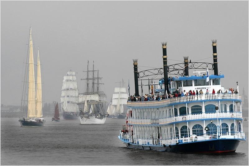 Auf der Weser...