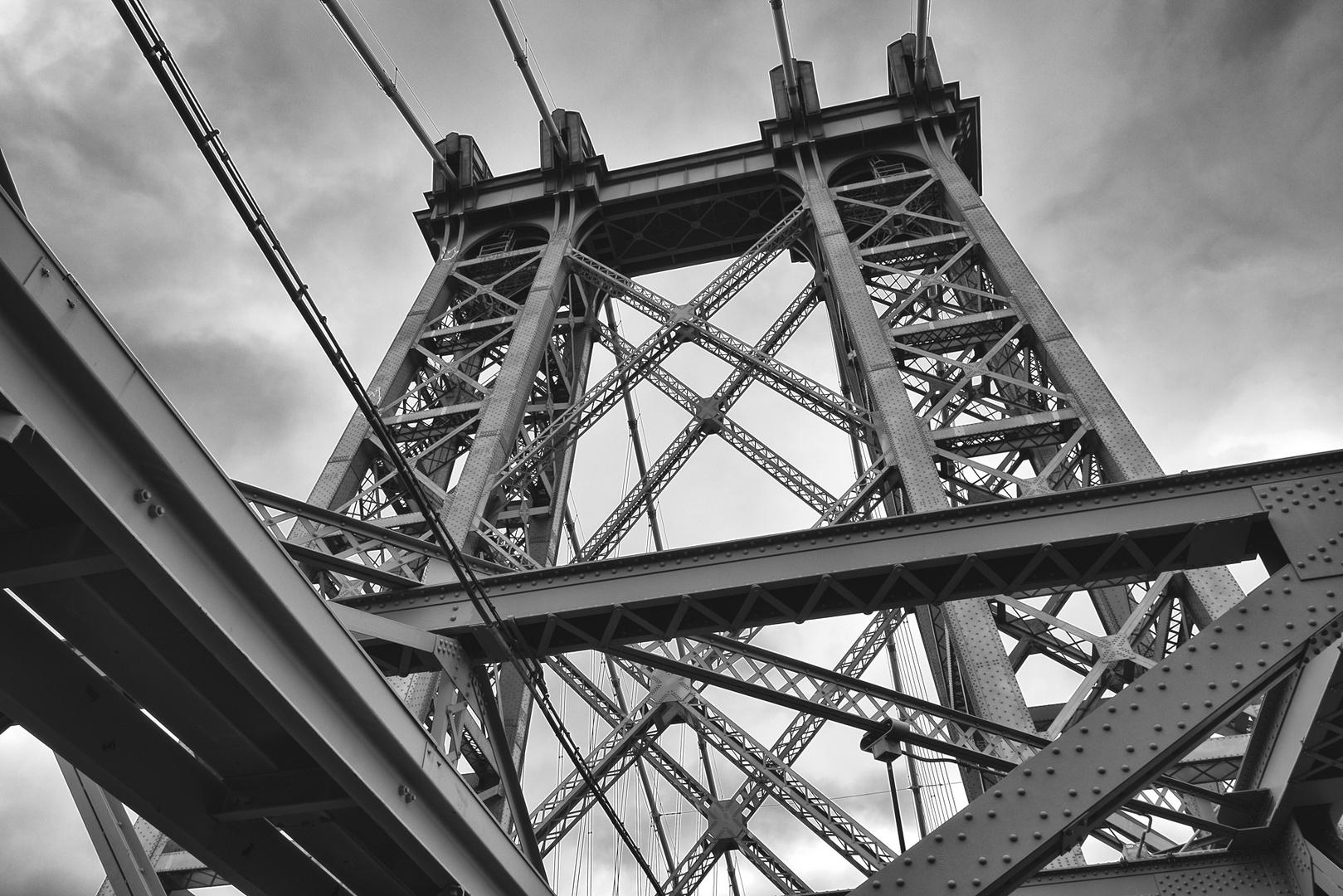 auf der Williamsburg Bridge
