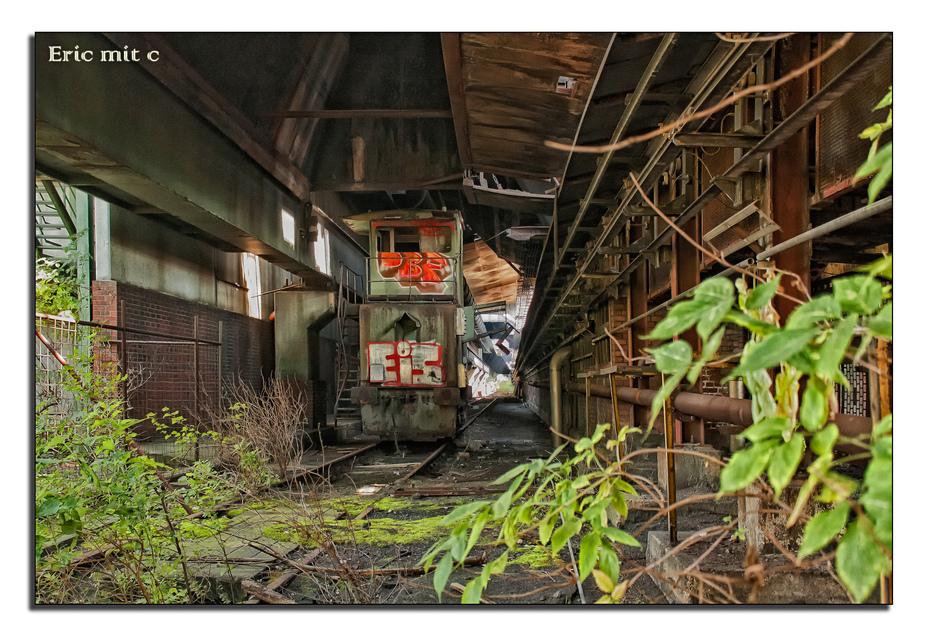 Auf der Zeche Zollverein