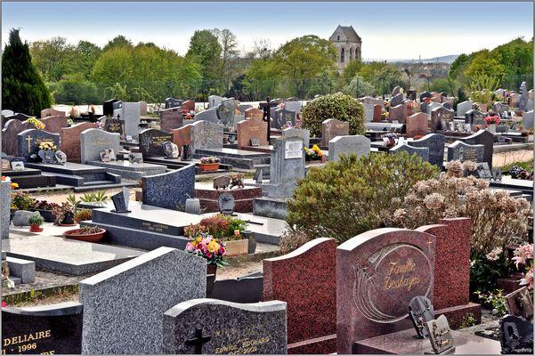 Auf diesem Dorffriedhof