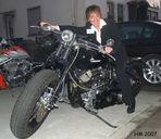 Auf einer Harley