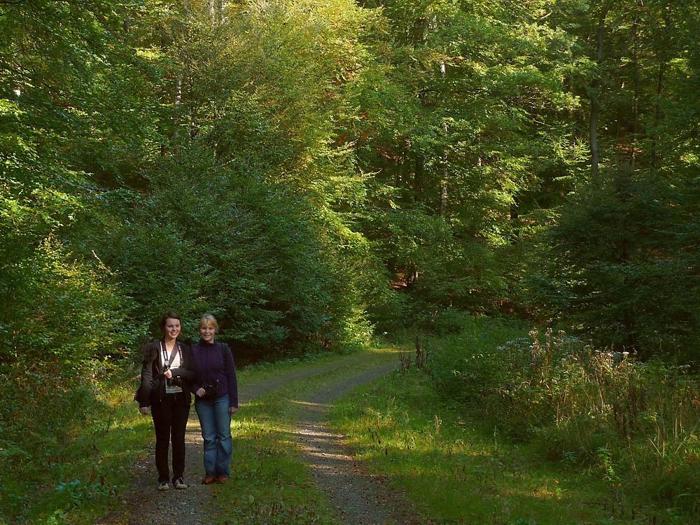 Auf Fototour mit Maria und Isabel