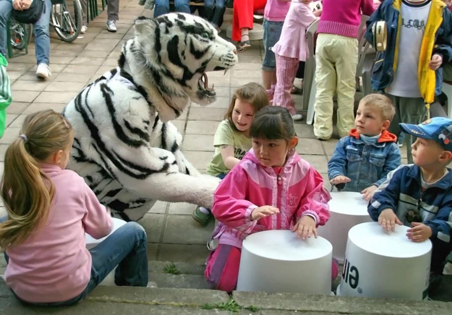 Auf geht es zum großen Kinderfest