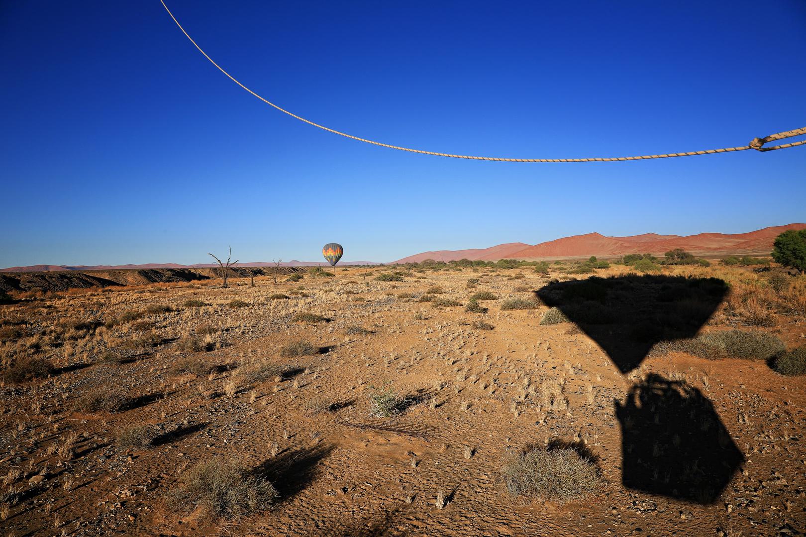 Auf großer Fahrt in Namibia