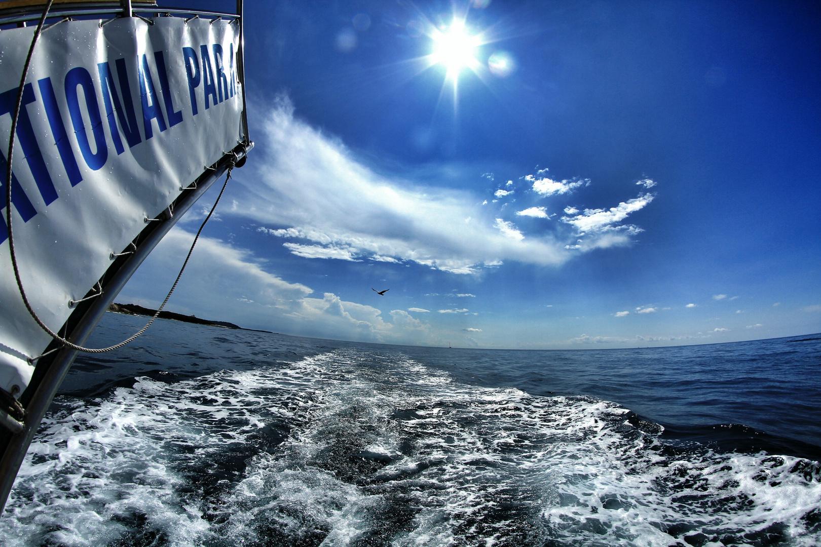 Auf hoher See...in Kroatien