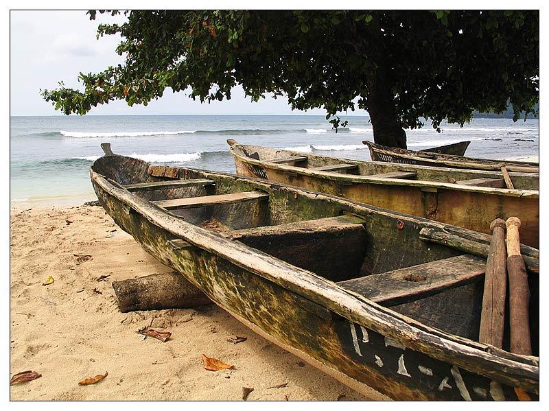 Auf Ilhéu das Rolas - São Tomé e Príncipe