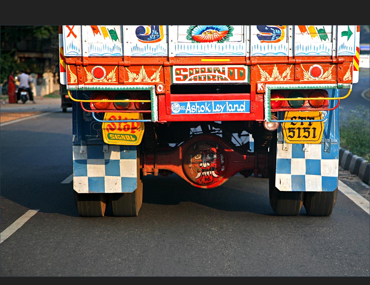 auf Indiens Straßen (3)