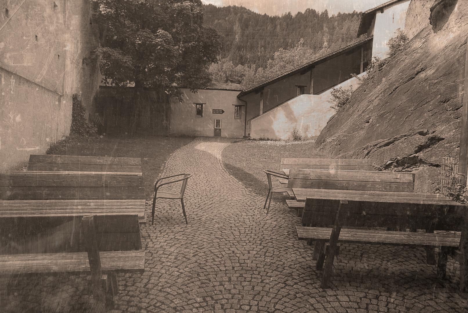 Auf ins Schloss Landeck