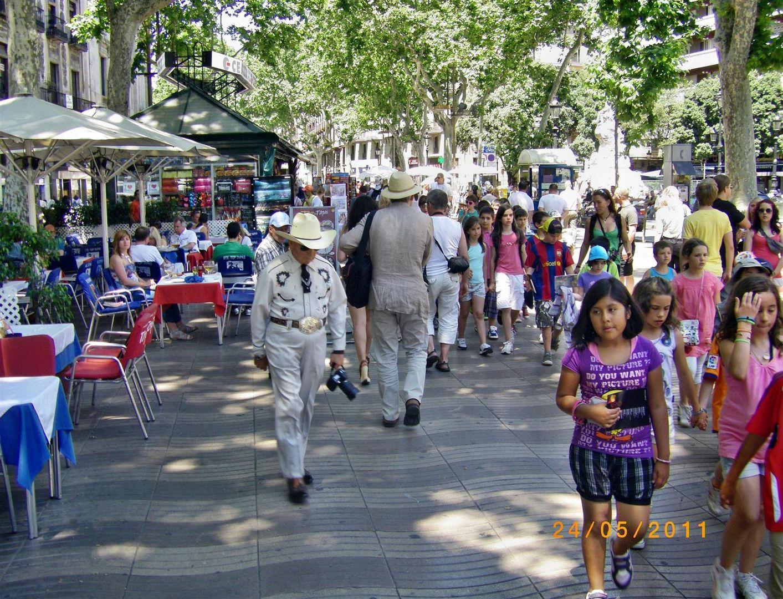 Auf Klassenfahrt in Barcelona