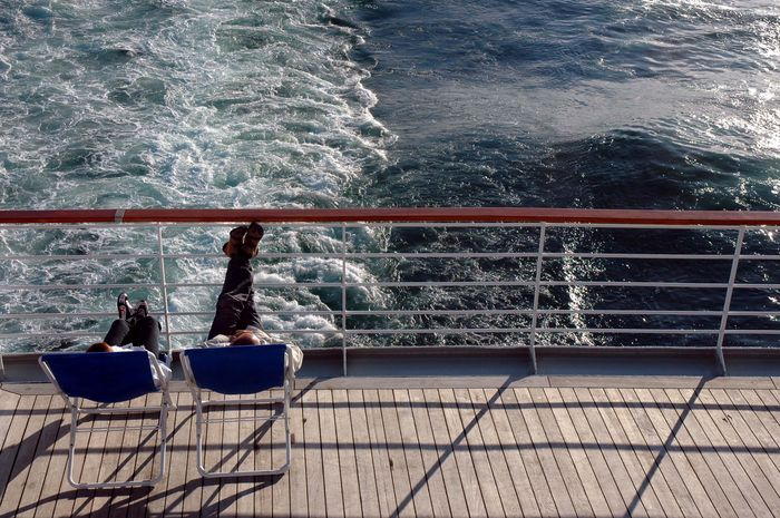 Auf Kreuzfahrt - das Meer genießen ...