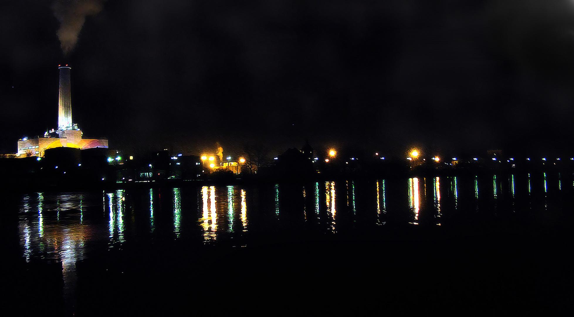 Auf Nachtschicht