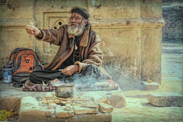 auf Nepals Straßen