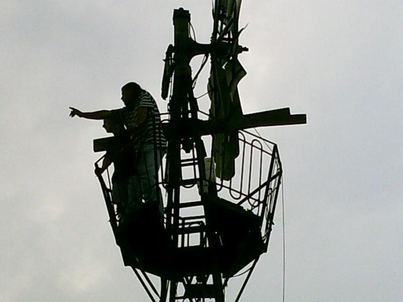 Auf Reckes Windrad