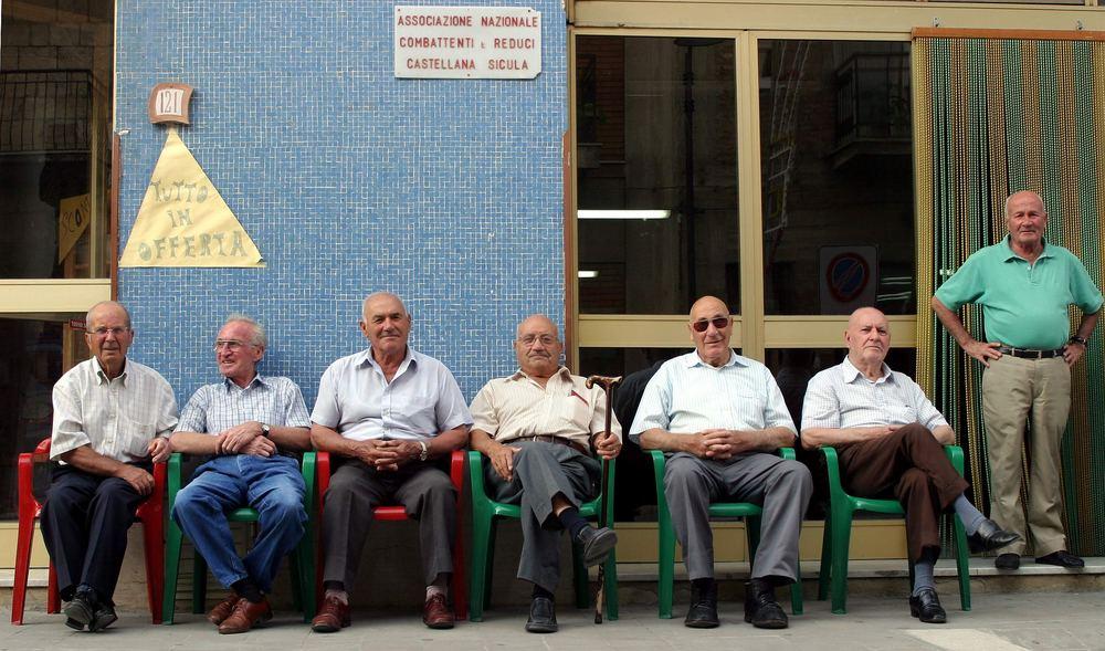 auf Sizilien macht das Leben noch Spass.......