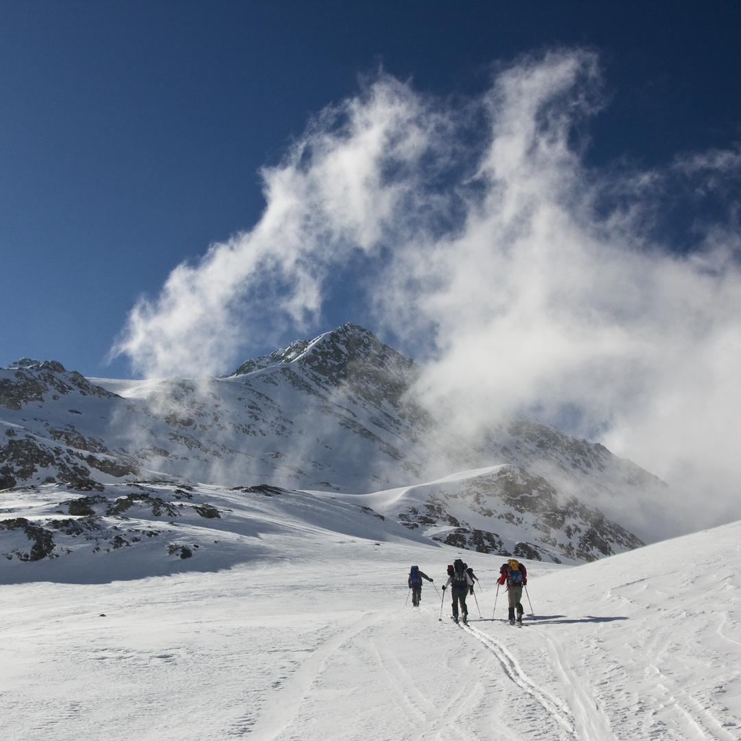 auf Skitour