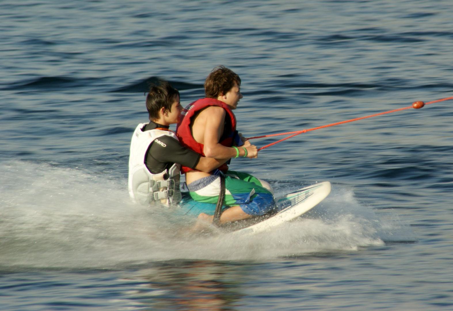 Auf Surfkurs