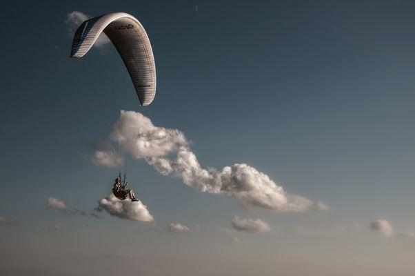 auf Wolken schweben