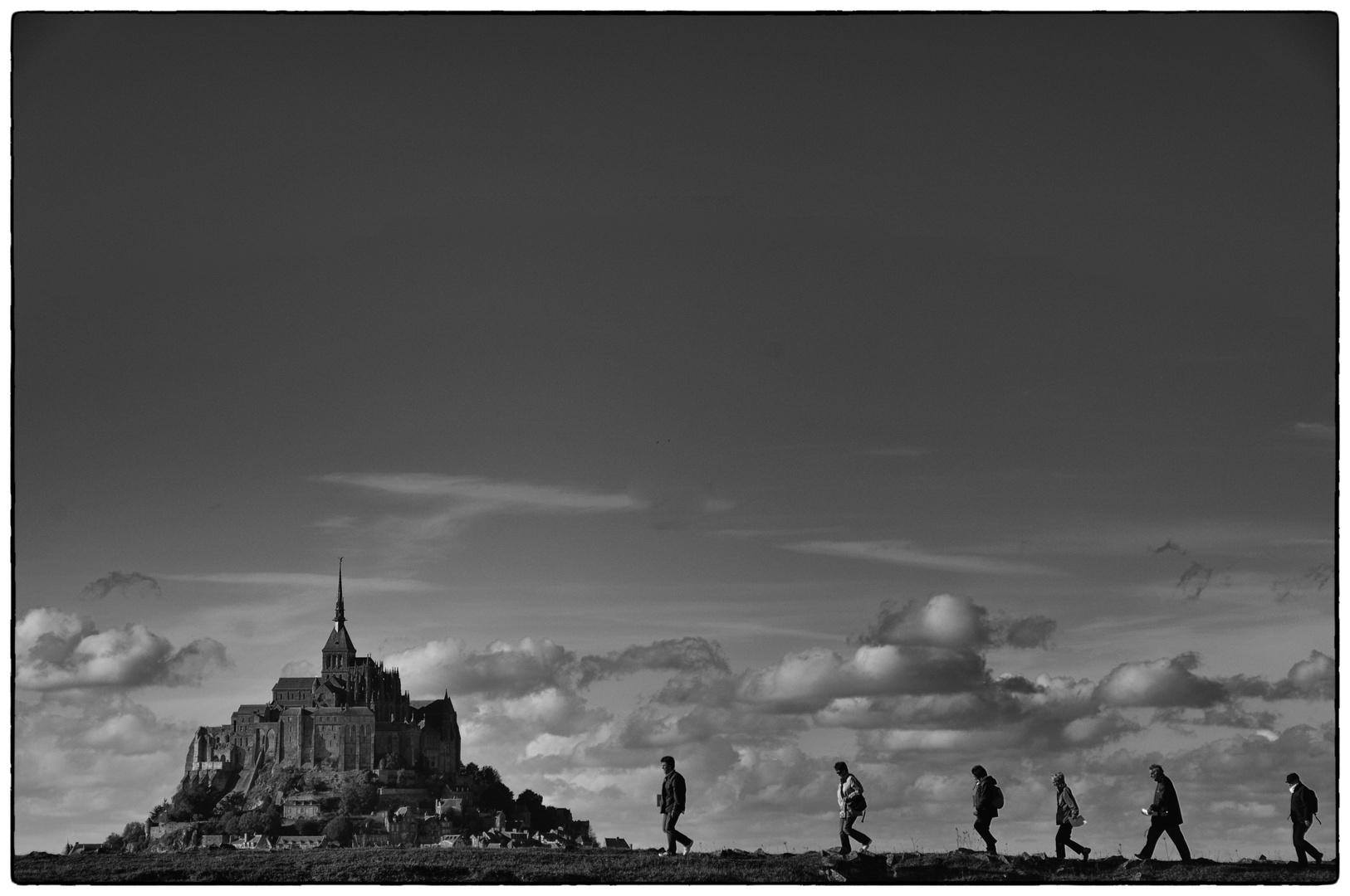 auf zum Mont Saint Michel...