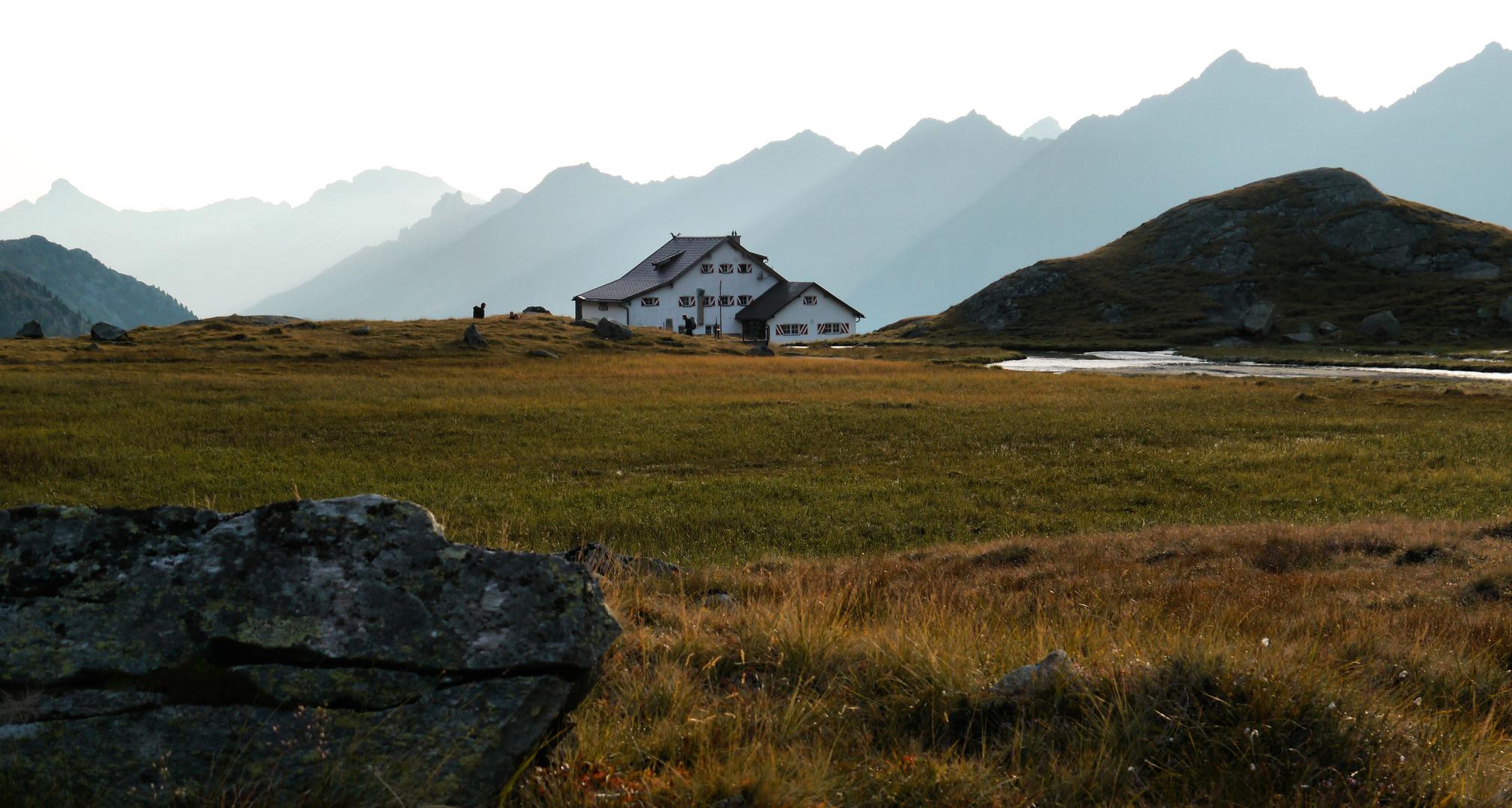 Aufbruch.... Neue Regensburger Hütte