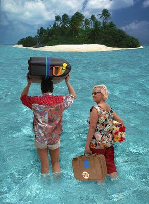 Aufbruch zu einer fernen Insel