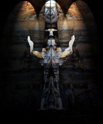 Auferstehung in der Felswand