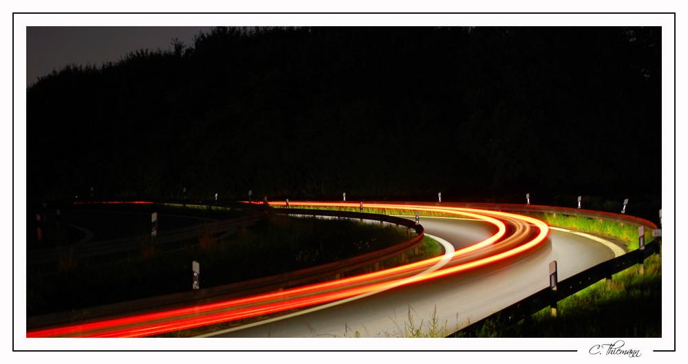 Auffahrt A2 Bottrop