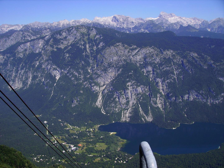 Auffahrt zum Vogel - Slovenia