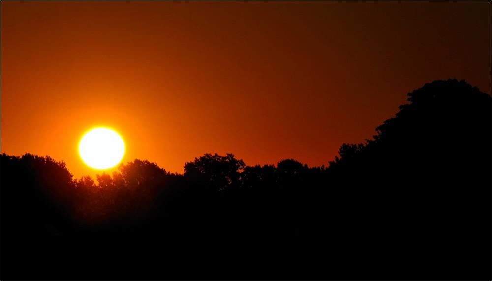 Aufgang der Herbstsonne