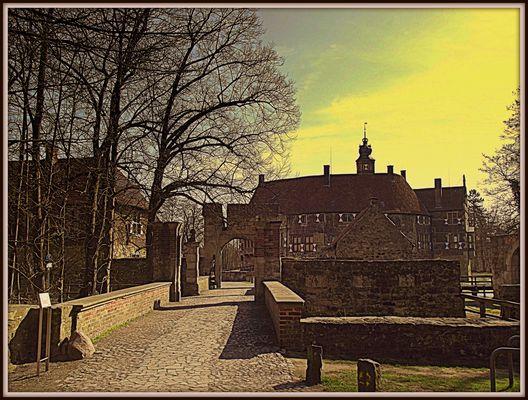 Aufgang zur Burg Vischerring / Lüdinghausen