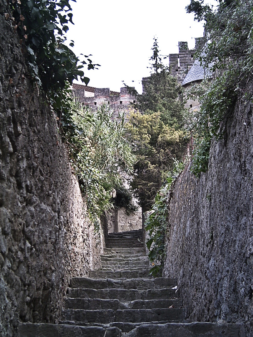Aufgang zur Cité