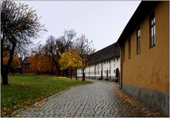 ... Aufgang zur Festung Akershus ...