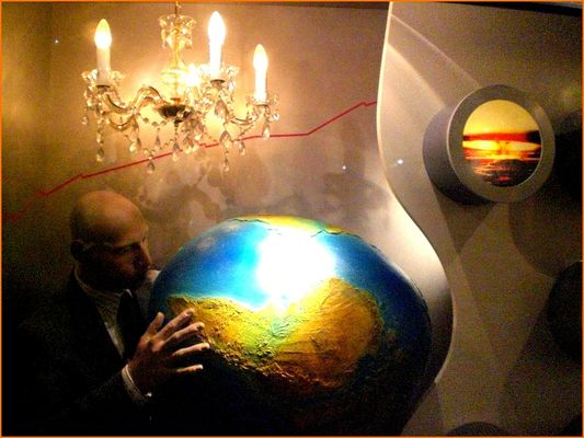 Aufgeblasene Welt