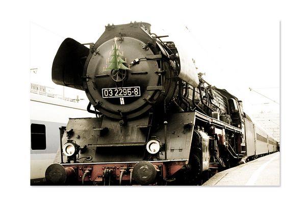 Aufgedeckt: Der Nikolaus fährt mit der Eisenbahn!