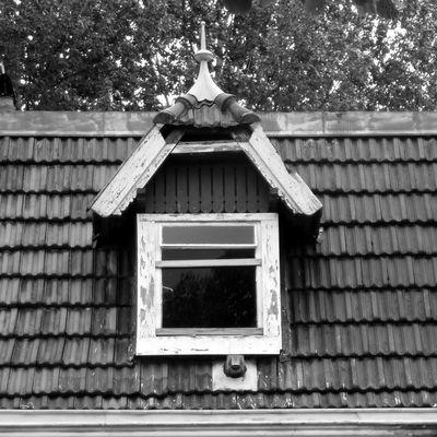 Aufgegebene Orte: Dachfenster