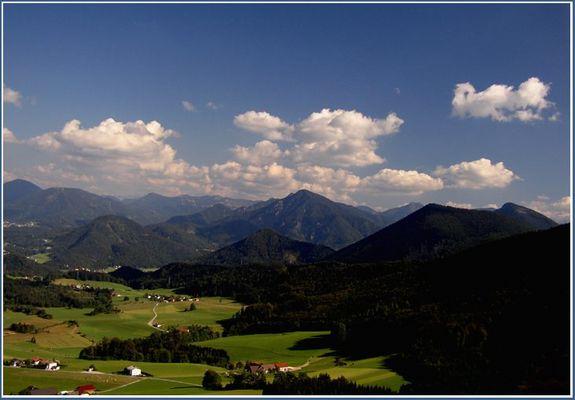 aufgenommen vom Nockstein (Salzburg)
