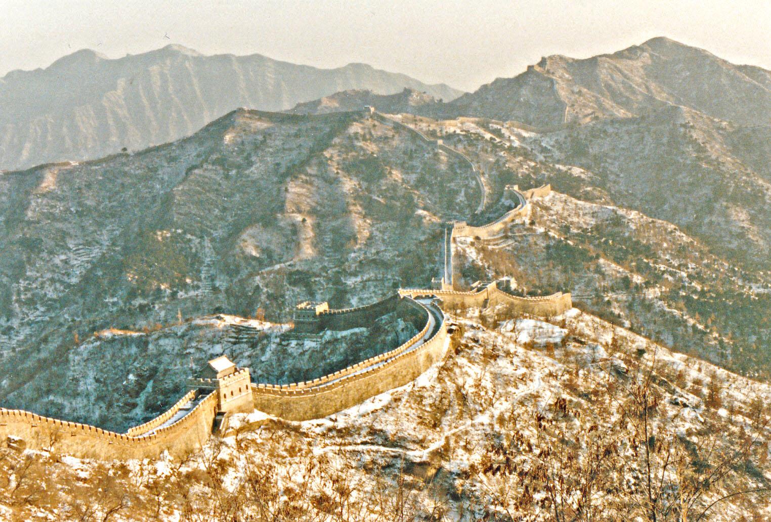 Aufnahme von 1987, Great Wall