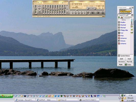 Aufruf: Desktop