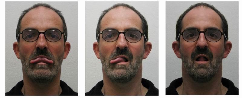 AUFRUF: drei formen eines Gesichtes funtastisch....