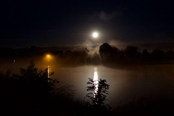 aufsteigender Nebel am NOK