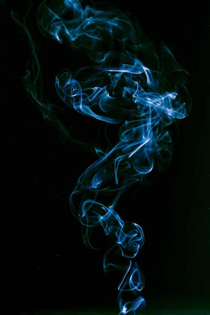 Aufsteigender Rauch