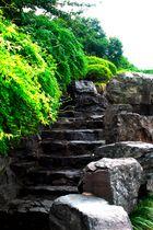 Aufstieg zum City God Pavilion - Hangzhou