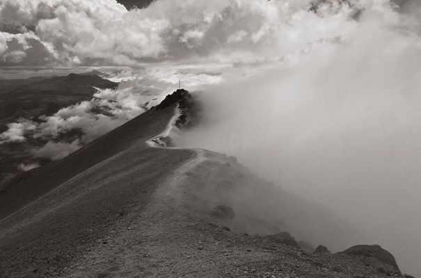 Aufstieg zum Guagua Pichincha