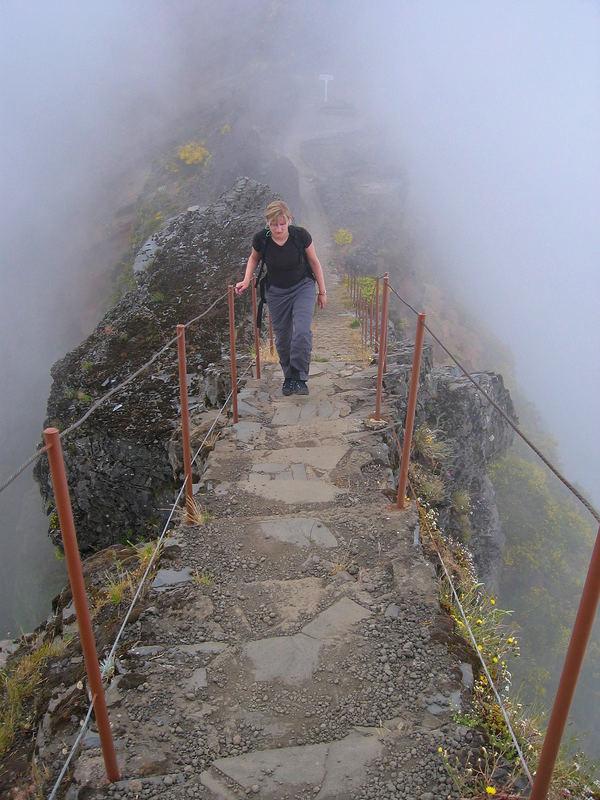 Aufstieg zum Pico Ruivo (Madeira)