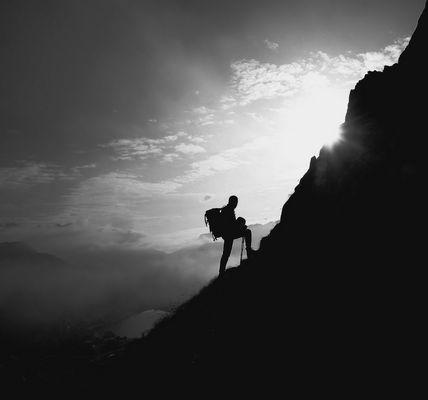 Aufstieg - zum Sidlhorn