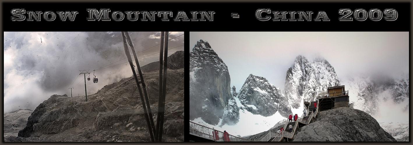 Aufstieg zum Snow Mountain