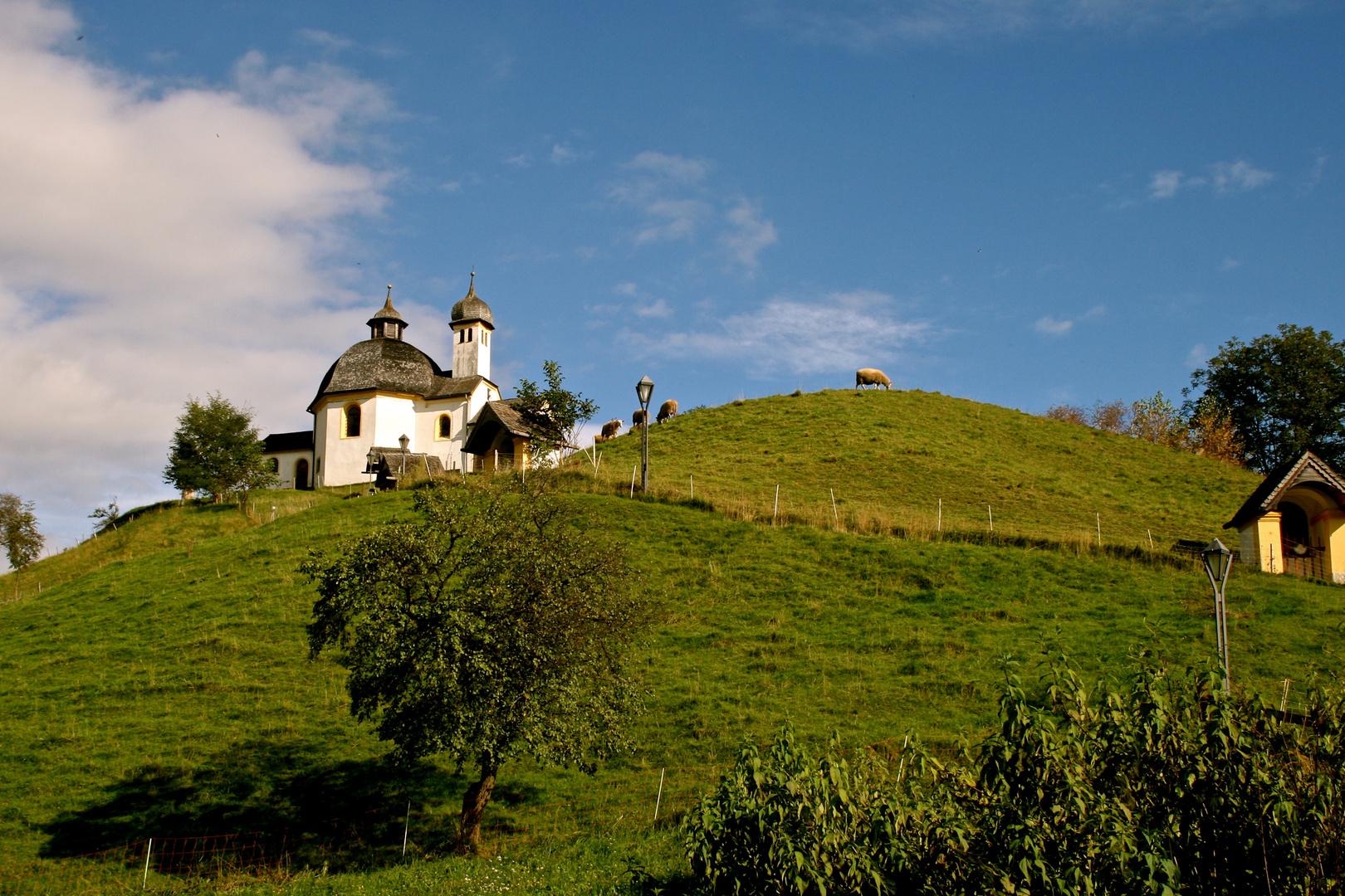 Aufstieg zur Kapelle (1)