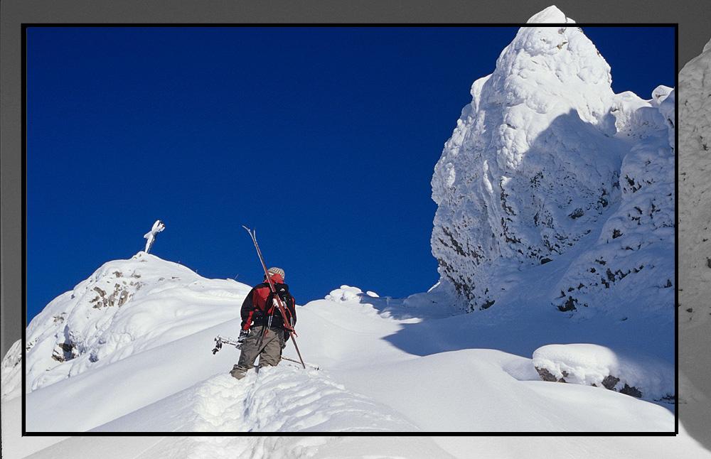 Aufstieg zur Karwendelspitze