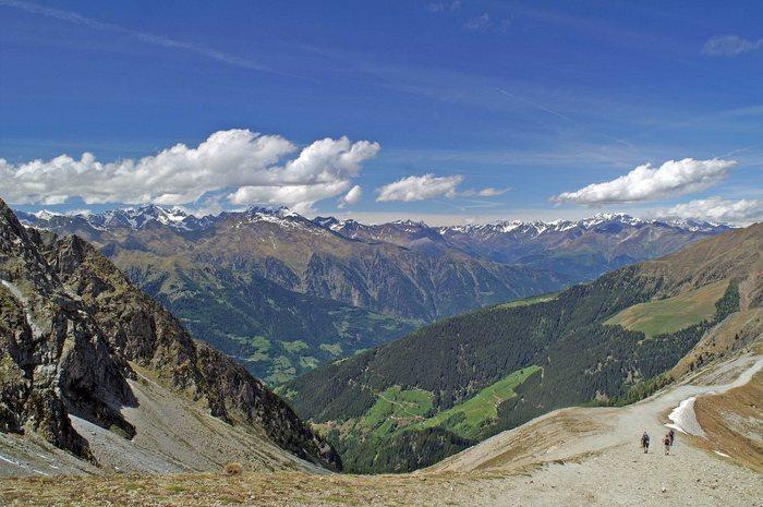 Aufstieg zur Kuhleiten Hütte Südtirol