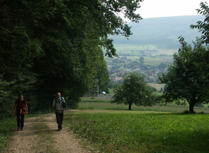 Aufstieg zur Ruine Homberg