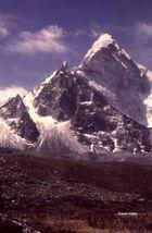 Aufstiegsroute zum Amei Dablan (Nepal)